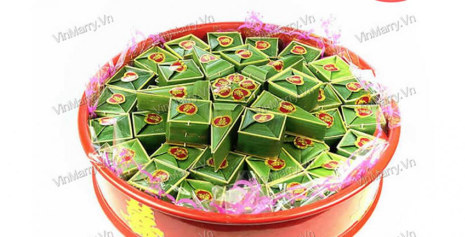 Bánh Phu Thê Lá Dừa